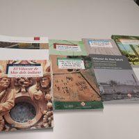 Portades de diverses edicions de la beca Ernest Lluch d'investigació i recerca local de Vilassar de Mar